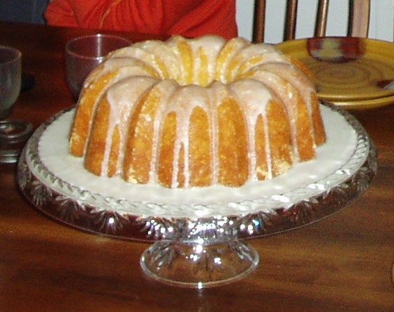 banana bundt pound cake recipe picture (the food experiment)