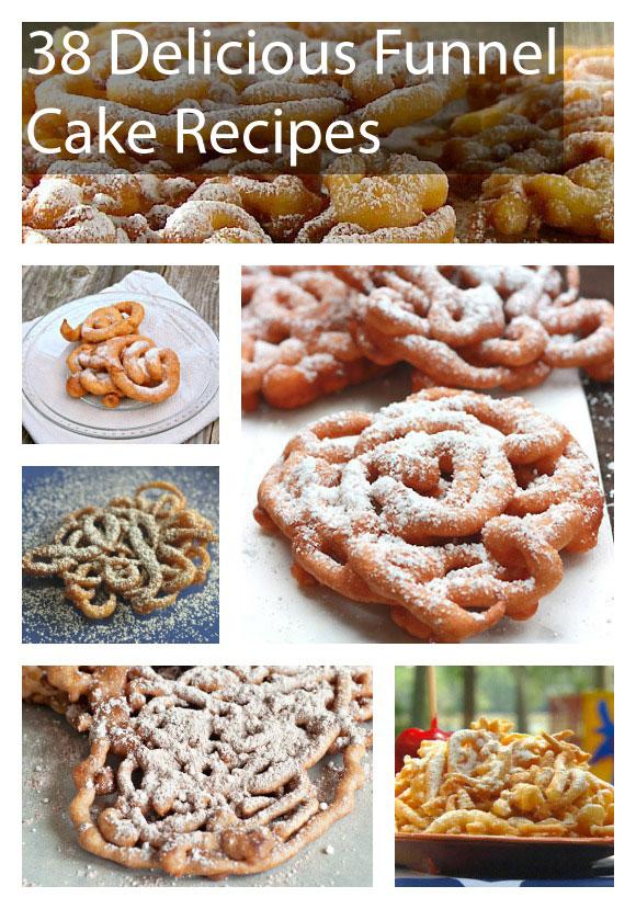 38 Delicious Funnel Cake Recipes Photos