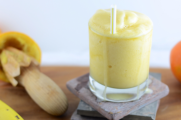 Vegan Orange Julius Recipe picture girl makes food