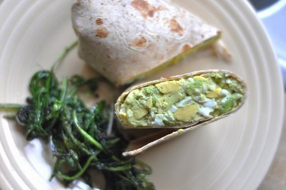 Avocado Egg Salad recipe by Never Homemaker