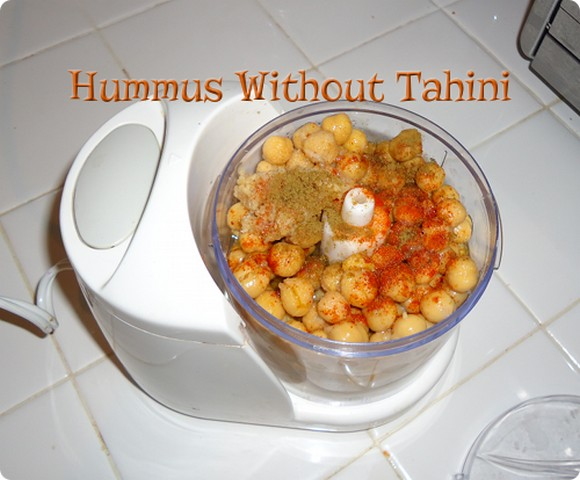 Hummus Without Tahini recipe by Green Stay at Home Mom