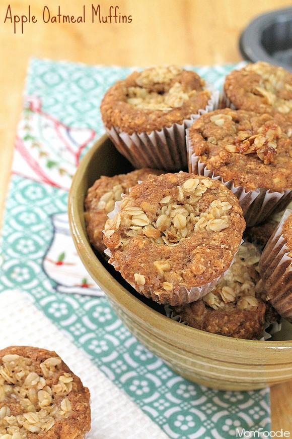 Apple Oatmeal Muffins recipe photo