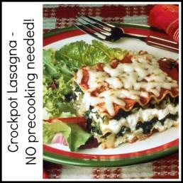 Crockpot Lasagna recipe photo