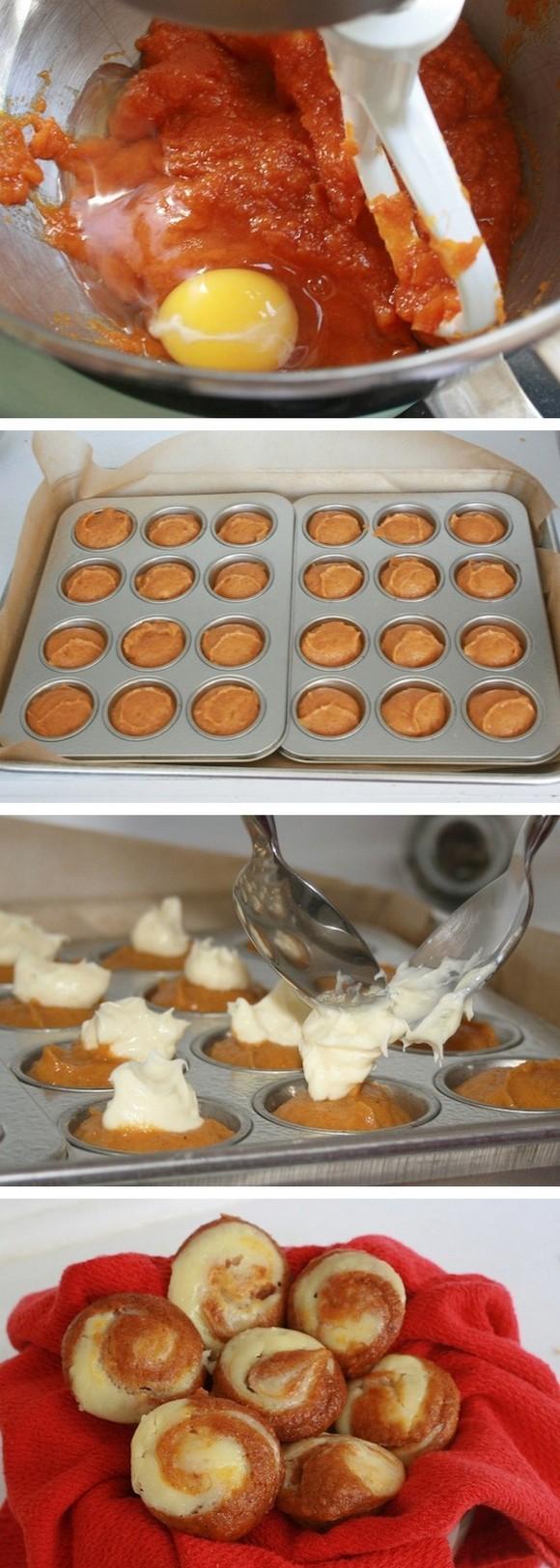 Easy Pumpkin Cheesecake Muffins recipe photo