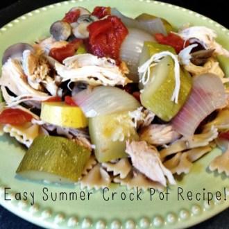 Easy Summer Crock Pot recipe photo