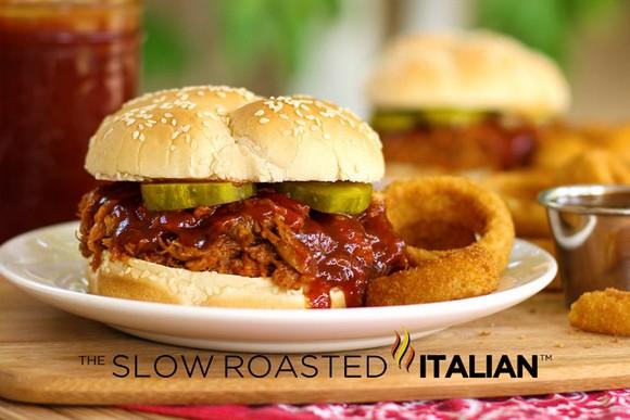 Jack Daniel's Crock Pot Pulled Pork Sandwich recipe photo