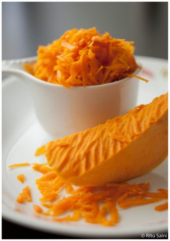 Pumpkin Halwa recipe photo
