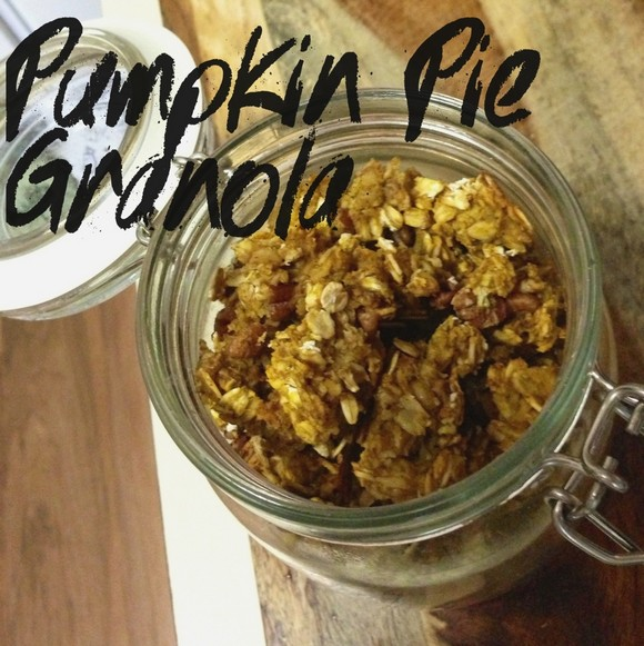 Pumpkin Pie Granola recipe photo
