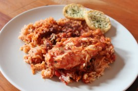 Slow Cooked Chicken With Sundried Tomatoes & Rice recipe photo