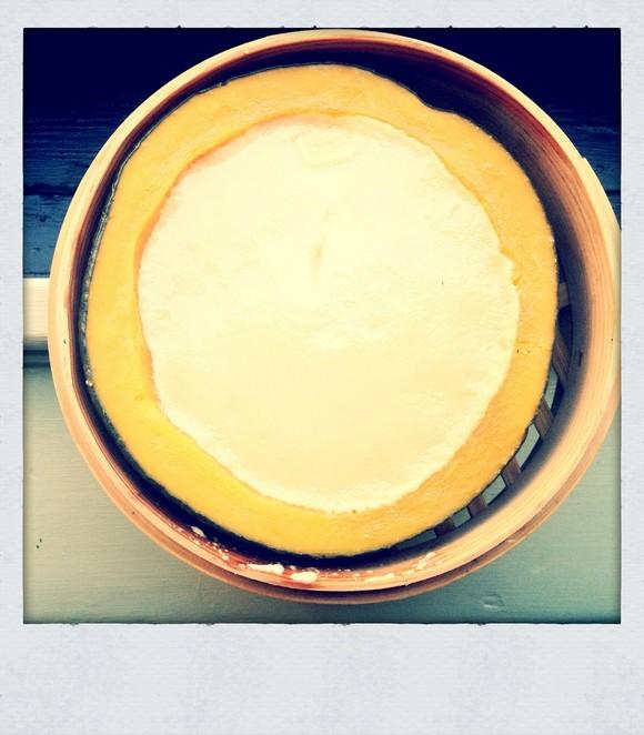 Steamed Pumpkin and Coconut Custard recipe photo
