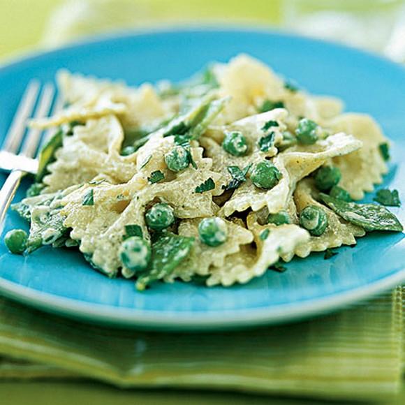 Green-and-White Pasta Salad recipe photo