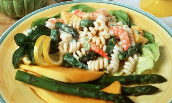 Lemon Vegetable Pasta recipe photo