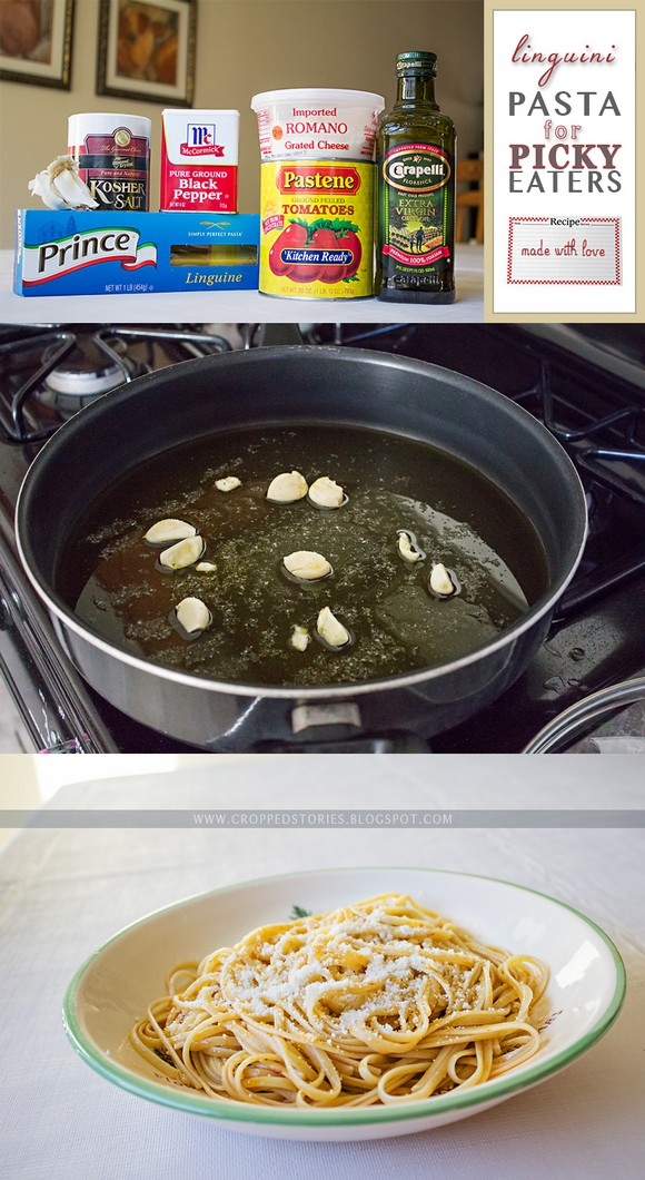 Linguini Pasta for Picky Eaters recipe photo