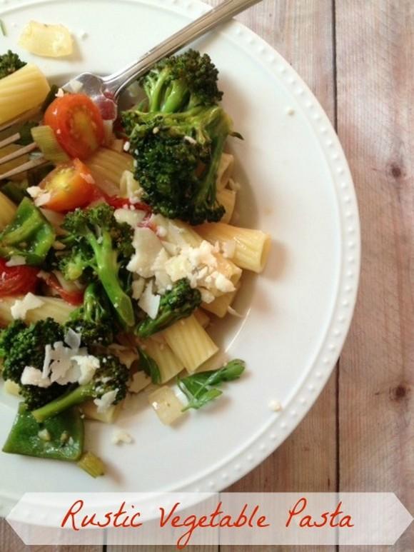 Rustic Vegetable Pasta Salad recipe photo