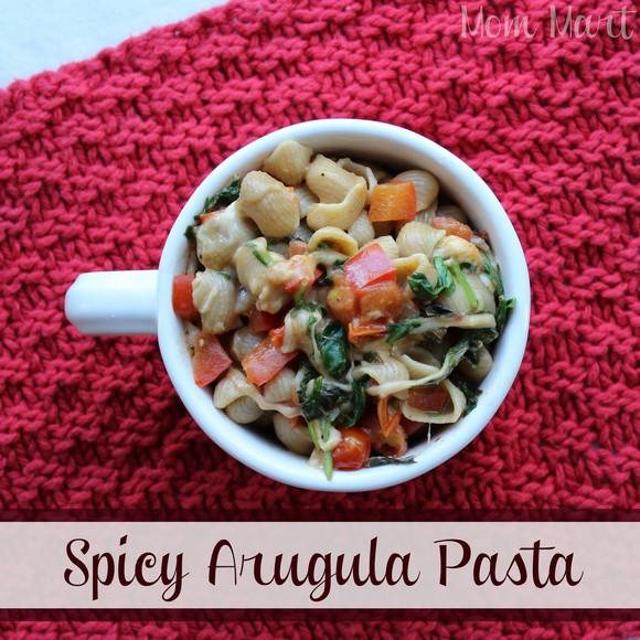 Spicy Arugula Pasta recipe photo