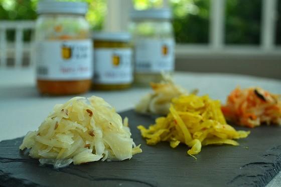 Apple-Fennel Sauerkraut recipe photo