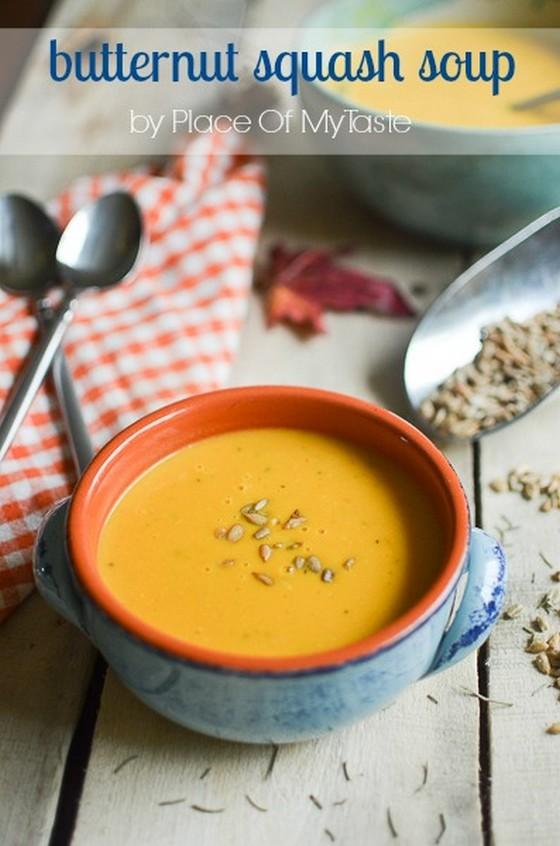 Butternut Squash Soup recipe photo