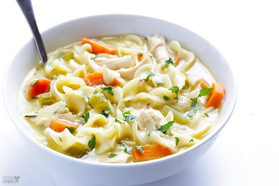 Creamy Chicken Noodle Soup recipe photo
