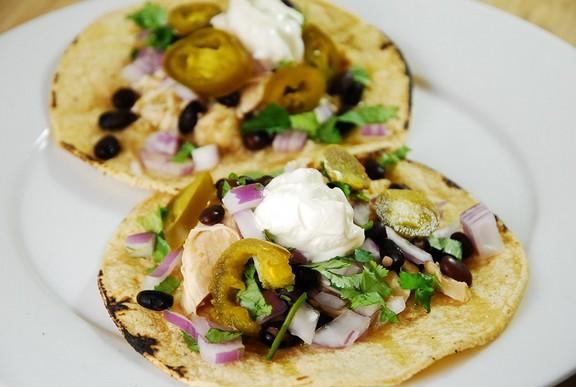 Crock Pot Chicken Verde Tacos recipe photo