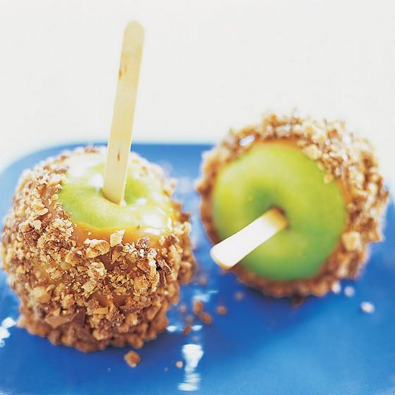 Halloween Candied Caramel Apples recipe photo
