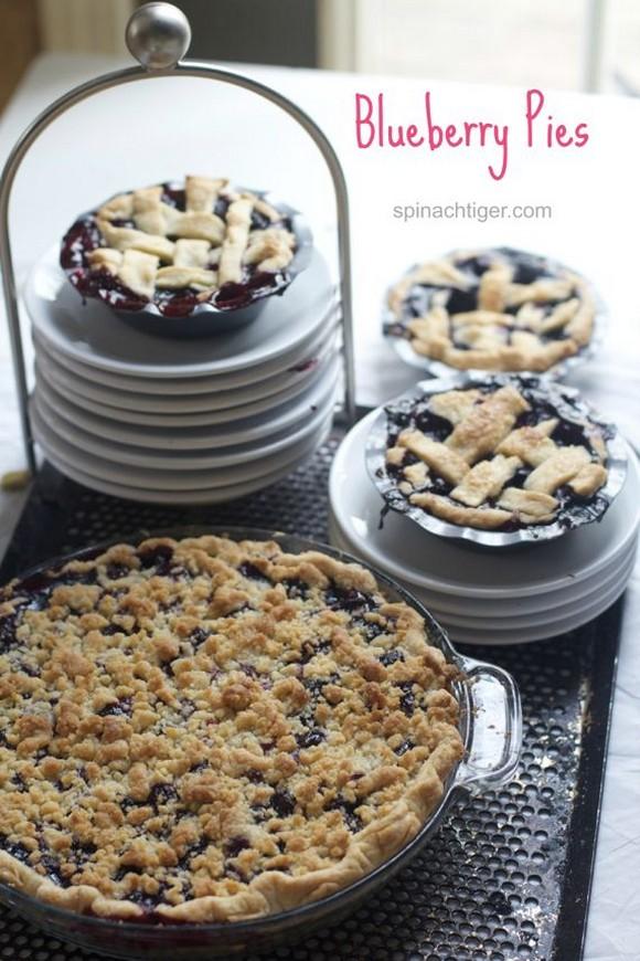 Blueberry Crumb Pie recipe photo