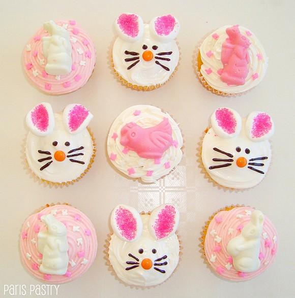 Cute Easter Cupcakes recipe photo