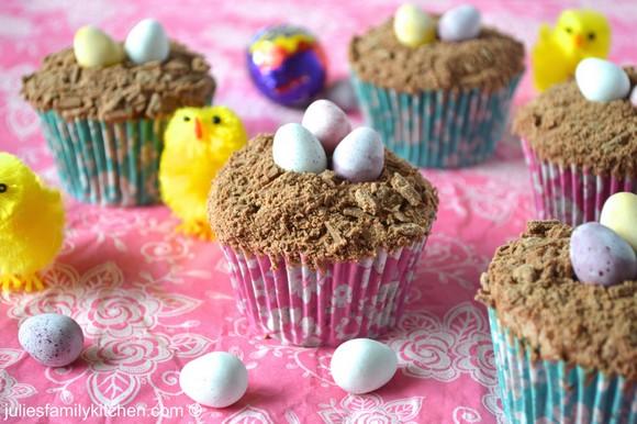 Easter Chocolate Cupcakes recipe photo