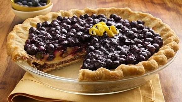 Pillsbury Blueberry Pie recipe photo