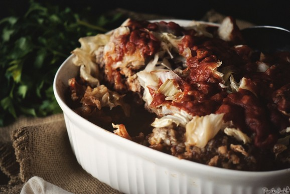Slow Cooker Stuffed Cabbage recipe photo