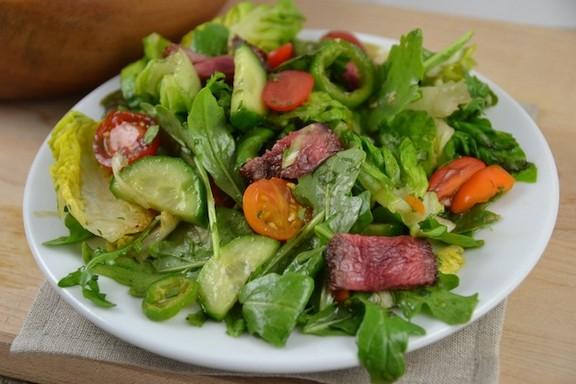 Asian Steak Salad recipe