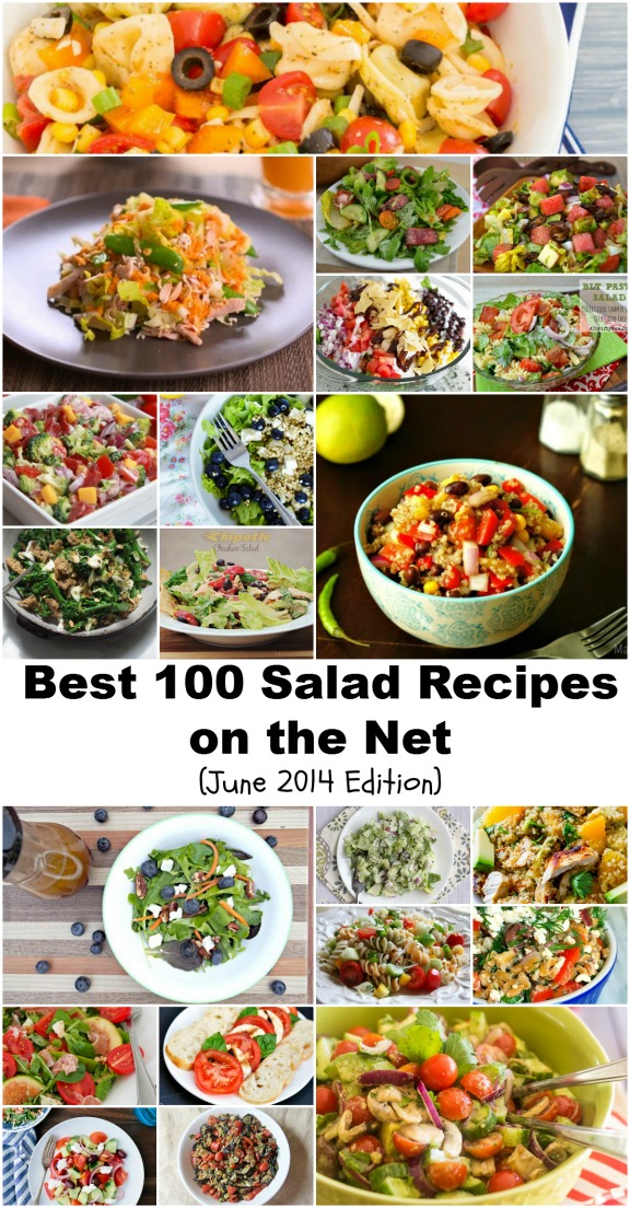 Best 100 Salad Recipes on the Net (June 2014 Edition)