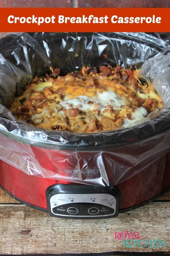Crockpot Breakfast Casserole recipe photo