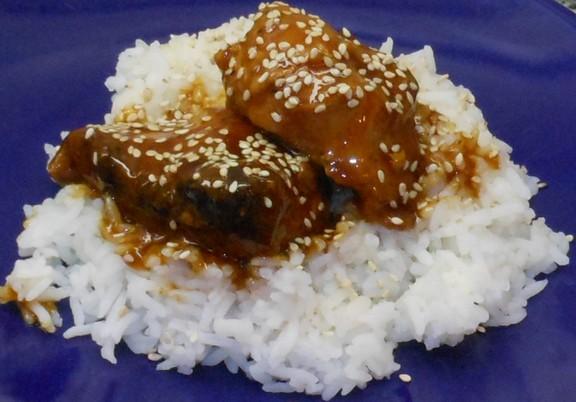 Crockpot Honey Sesame Chicken recipe photo