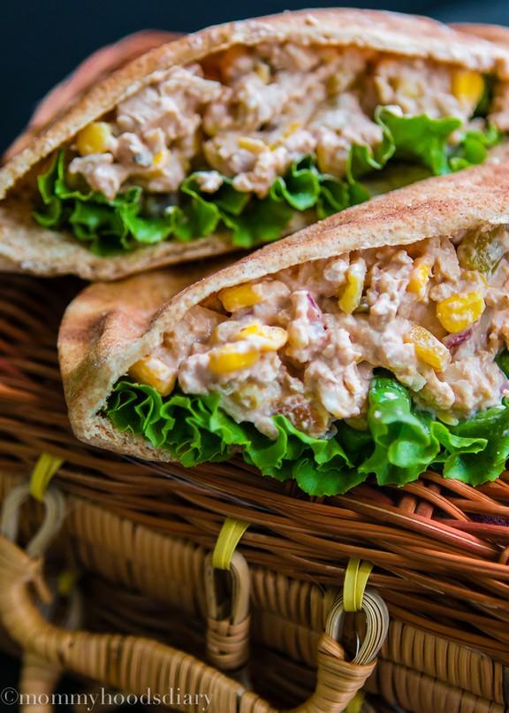 Honey Chipotle Barbecue Chicken Salad recipe