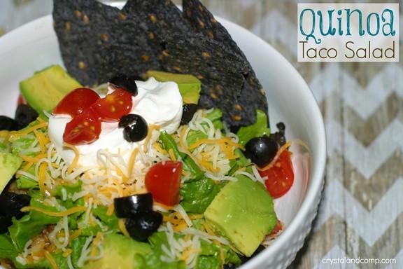 Quinoa Taco Salad recipe