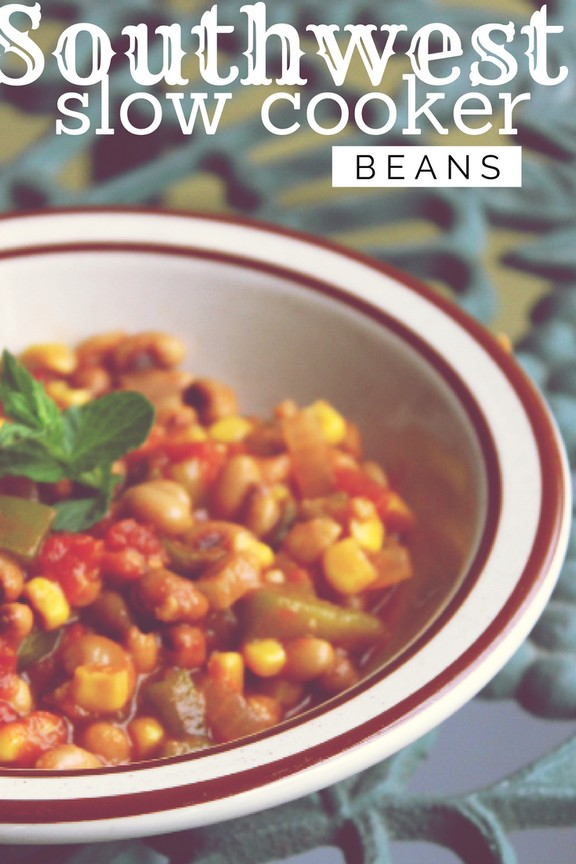 Southwest Slow-Cooker Beans recipe photo