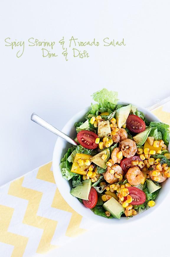 Spicy Shrimp and Avocado Salad recipe