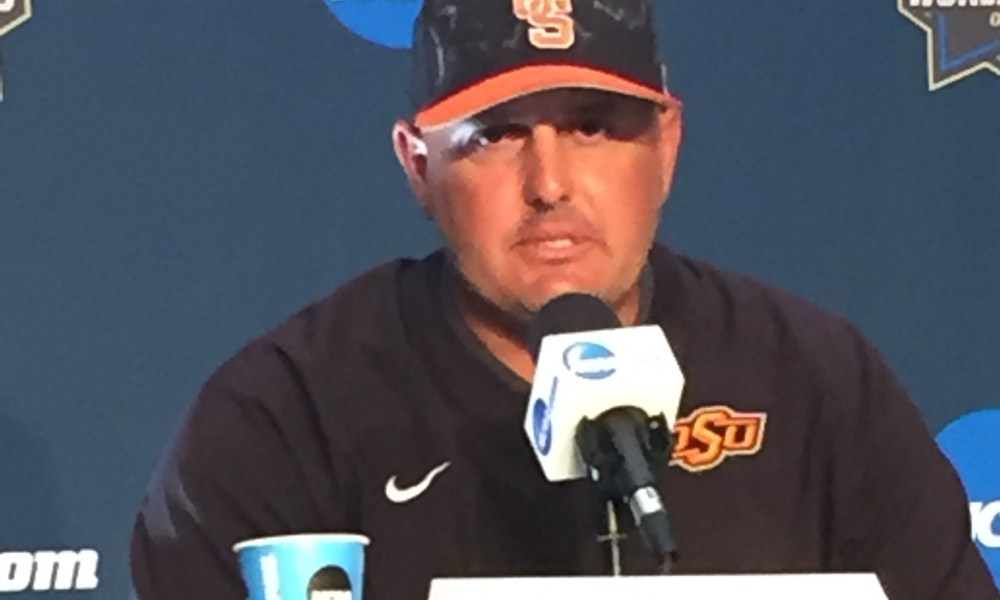 Oklahoma State coach Josh Holliday discusses the Cowboys' season-ending 5-1 loss to Arizona on Saturday at the College World Series.