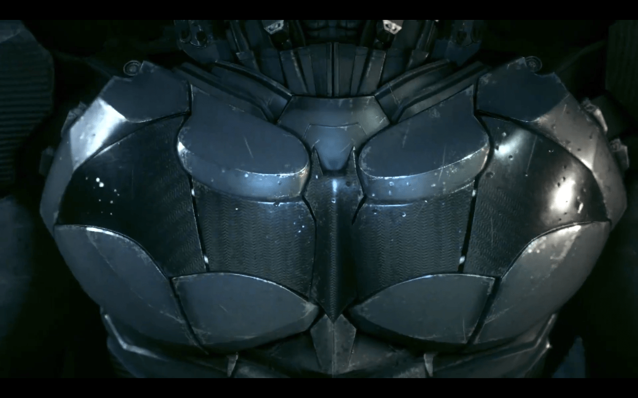The First Batman Arkham Knight Gameplay Footage Revealed Bat Logo