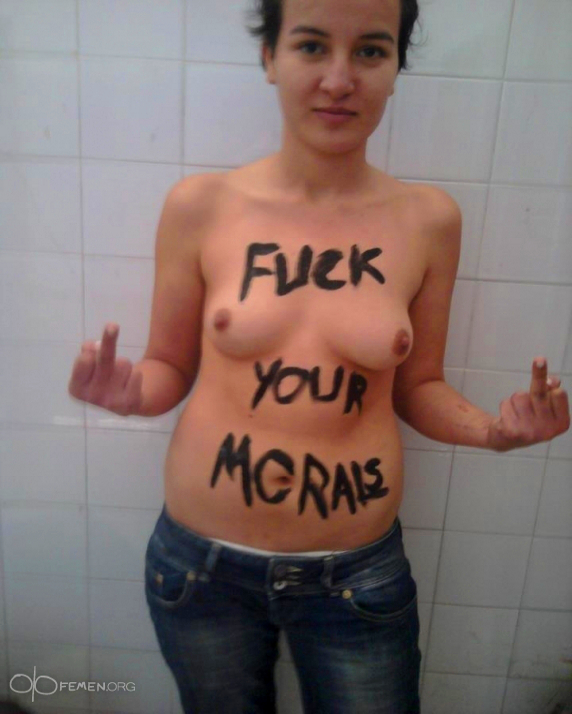 Help Femen activist Amina, condemned to Death for protest Photo | The Free