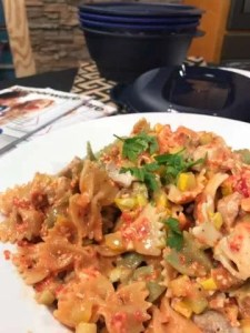 Roasted Red Pepper Farfalle