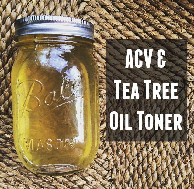 ACV + Tea Tree Oil Toner