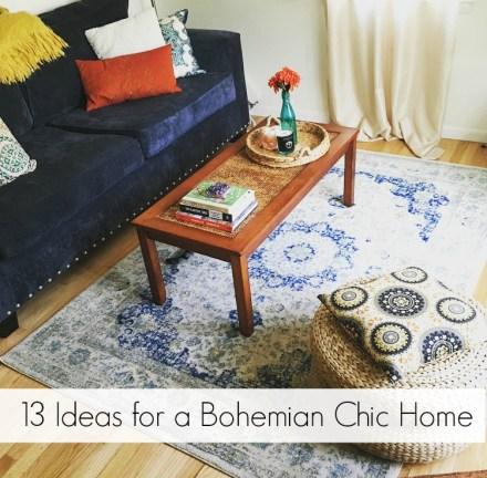 Bohemian Chic Home Tips
