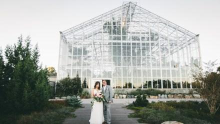 The Friendly Fig Wedding - Roger Williams Botanical Gardens