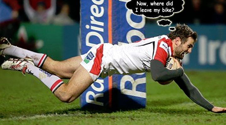 Will we see the Payne try celebration ever again?