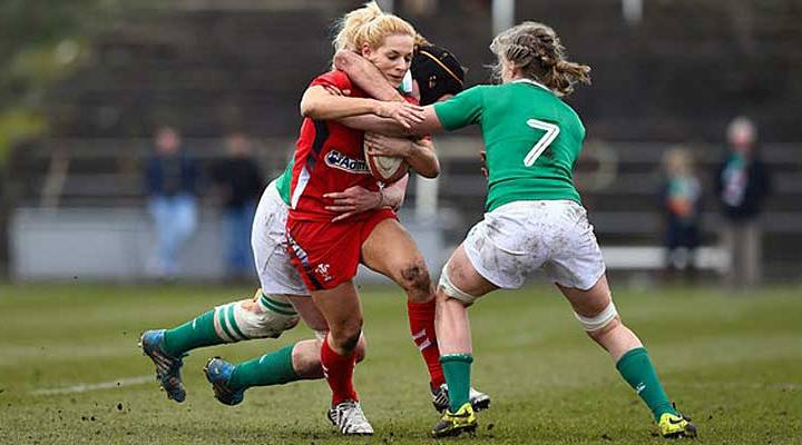 An outstanding performance from Ireland's Claire Molloy  kept Wales scoreless!