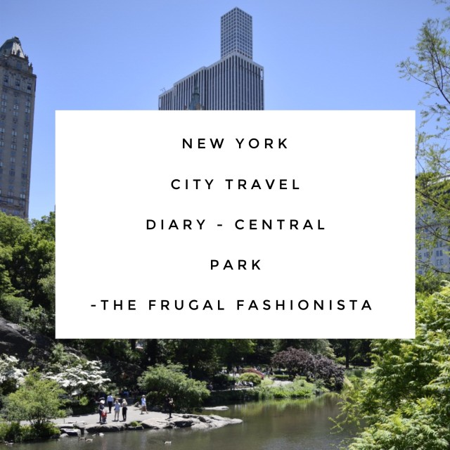 New York Travel Diary - Central Park