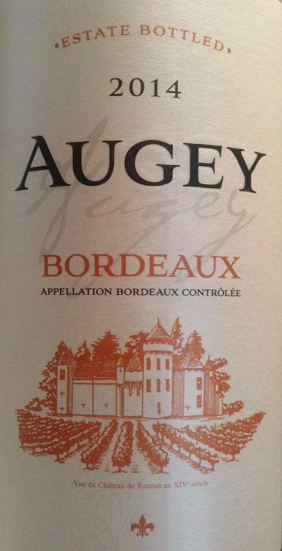 Augey 2014 Blanc Bordeaux