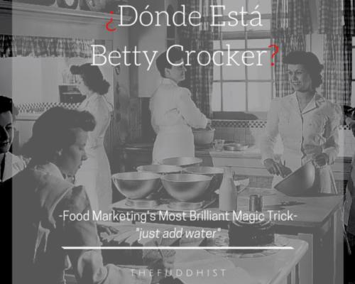 Donde Esta Betty Crocker