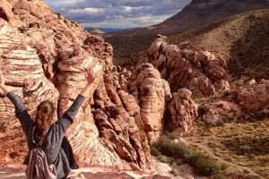 Janie Joanne Pepin, Red Rock Canyon, Nevada